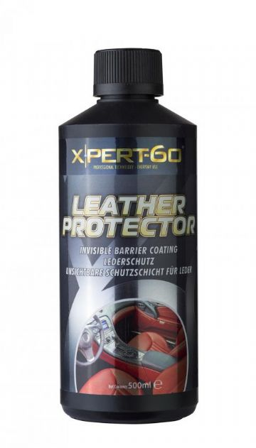 XPERT-60 LEATHER PROTECTOR Invisible Breathable Protective Barrier Coating 500ml